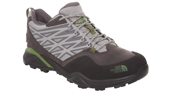 The North Face Hedgehog Hike GTX Shoes Men griffin grey/garden green